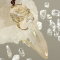 ワイヤーアート レムリアンシードクリスタル ポイントペンダント 「Atlantisの波と光」