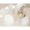 ワイヤーアート レムリアンシードクリスタル ポイントペンダント ゴールデンヒーラー 「Magic Of Wind」